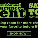 Up to 90% off Costumes! Shop the BuyCostumes Semi-Annual Clearance Event