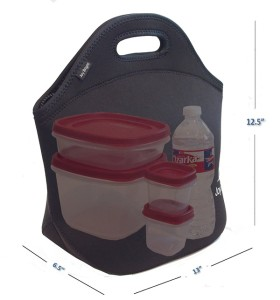Joy Bright Neoprene Lunch Bag
