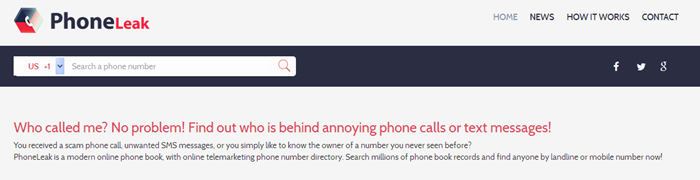 Use Reverse Phone Lookup Service to Find out who Called You