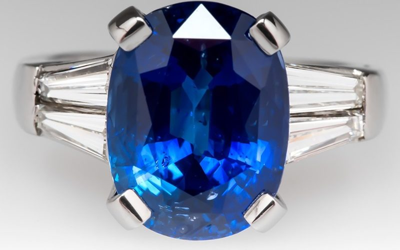 How To Make A Statement With A Sapphire Ring