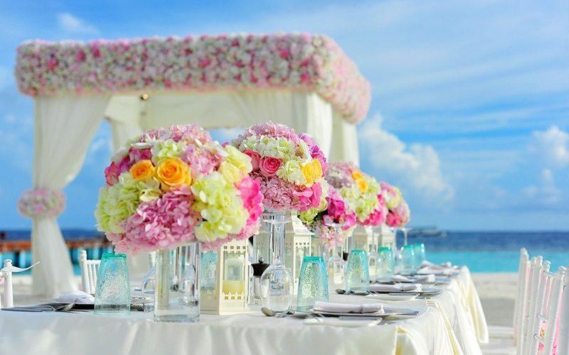 Wedding in a Romantic Venue