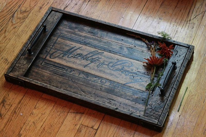 Reclaimed or Salvaged Wood Items